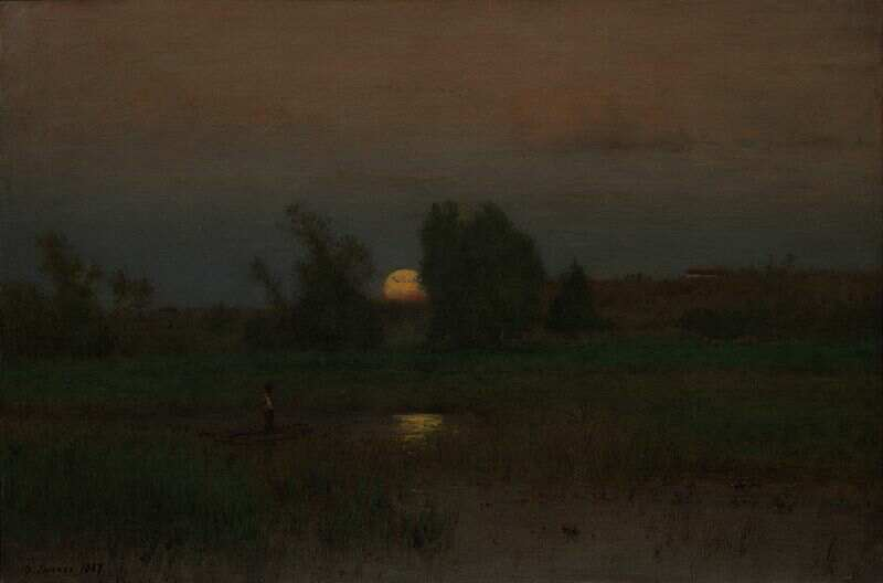 800px-Moonrise_by_George_Inness_1887