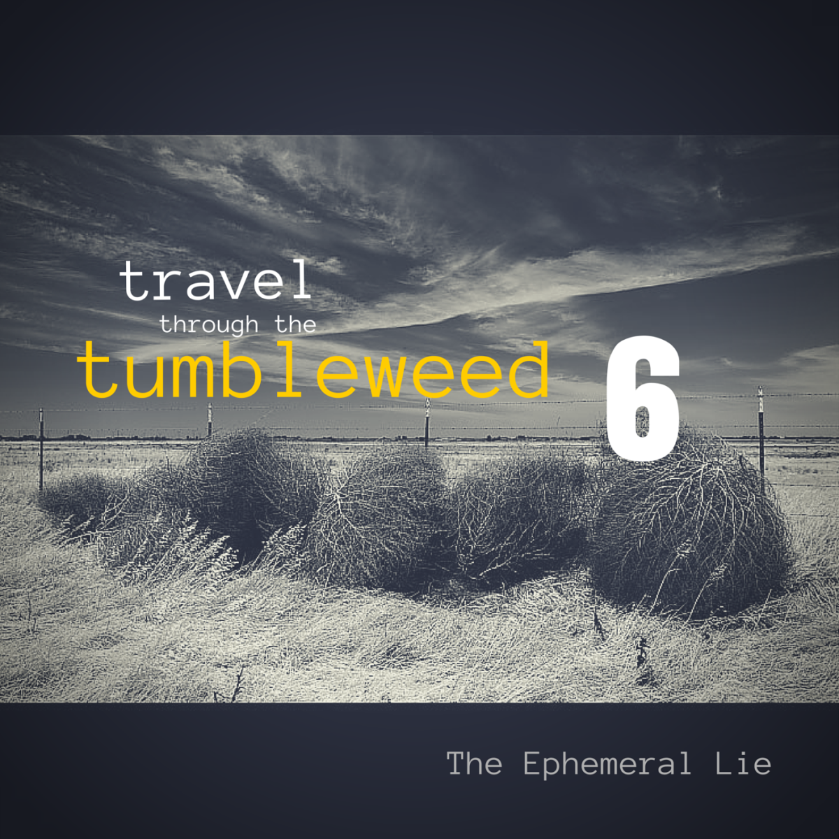 image of tumbleweed for week 6 in the 10 week series exploring old blog posts. this week's entry is a post inspired by a prompt with 7 words, and is titled 'the ephemeral lie'.